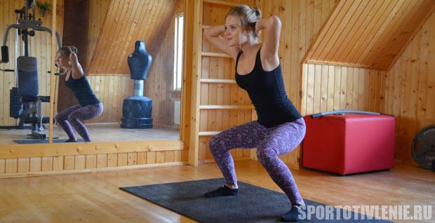 Упражнения для попы в домашних условиях с фото