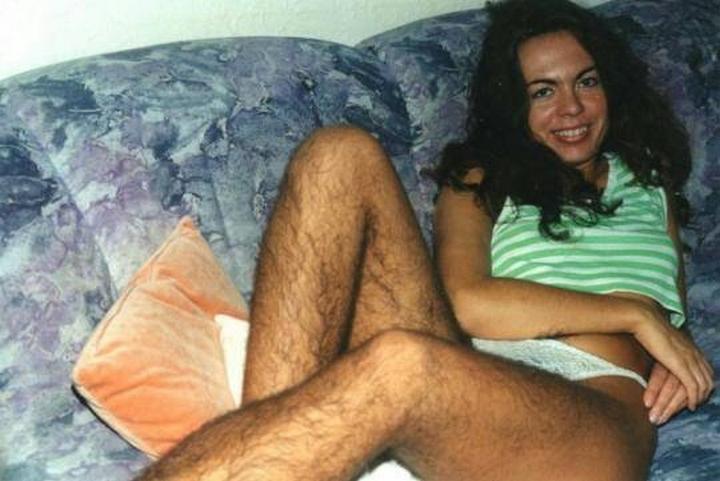 волосатые ноги подмышки: